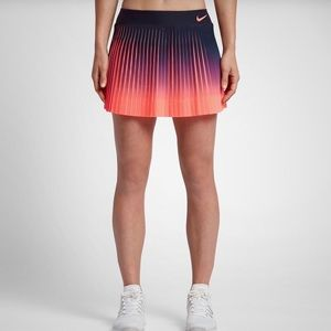 Nike Court Flex Victory Skirt Small Pleated